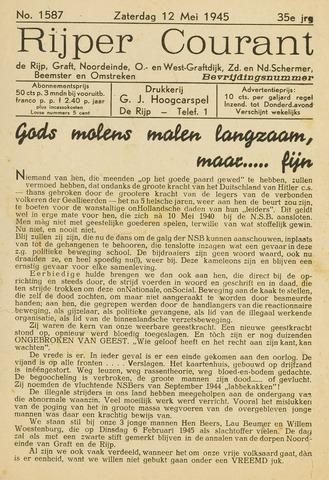 Rijper Courant 1945-05-12