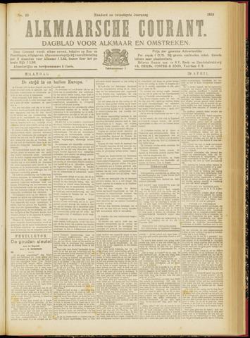 Alkmaarsche Courant 1918-04-29