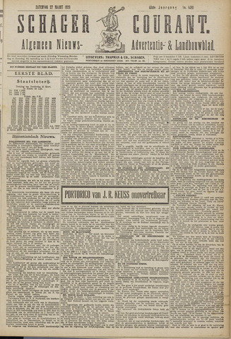 Schager Courant 1920-03-27