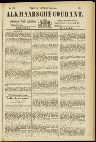 Alkmaarsche Courant 1887-03-16