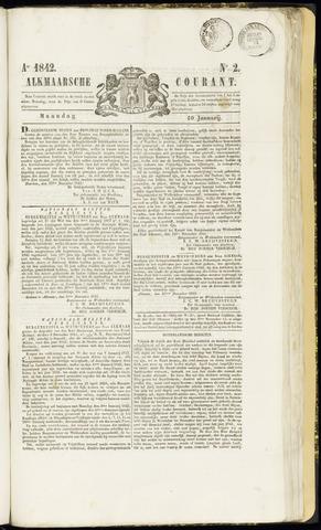 Alkmaarsche Courant 1842-01-10