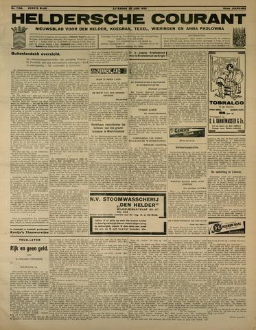 Heldersche Courant 1932-06-25