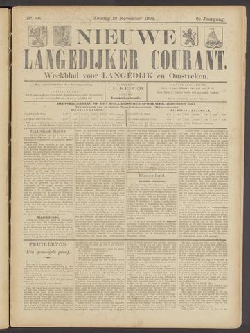 Nieuwe Langedijker Courant 1893-11-12