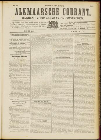 Alkmaarsche Courant 1909-08-10