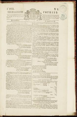 Alkmaarsche Courant 1851-01-06