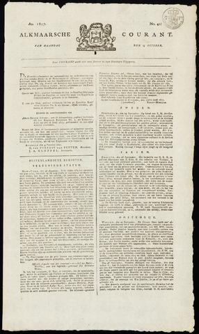 Alkmaarsche Courant 1817-10-13
