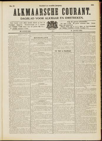 Alkmaarsche Courant 1910-01-31