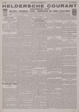 Heldersche Courant 1919-12-20