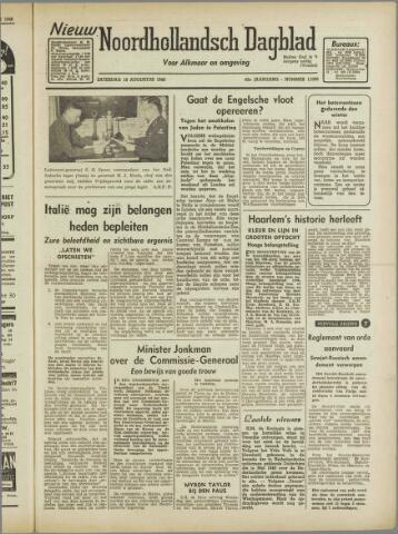 Nieuw Noordhollandsch Dagblad : voor Alkmaar en omgeving 1946-08-10