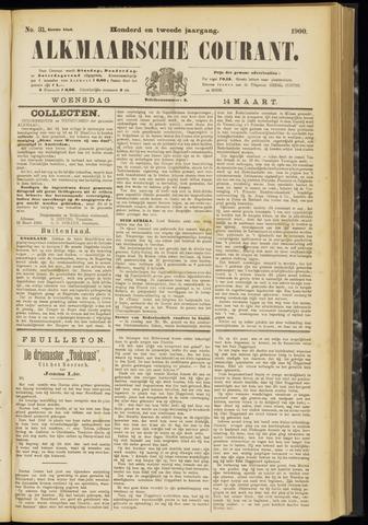 Alkmaarsche Courant 1900-03-14