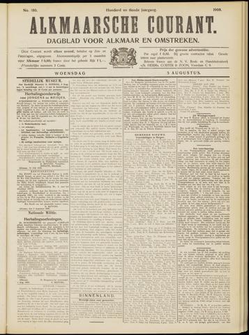 Alkmaarsche Courant 1908-08-05