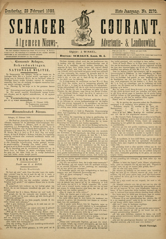 Schager Courant 1888-02-23