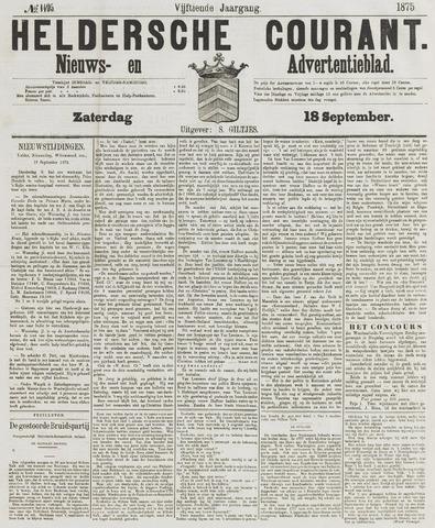Heldersche Courant 1875-09-18