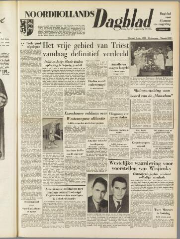 Noordhollands Dagblad : dagblad voor Alkmaar en omgeving 1954-10-05