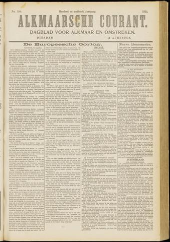 Alkmaarsche Courant 1914-08-11