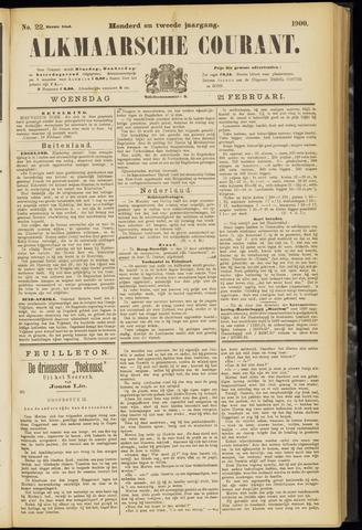 Alkmaarsche Courant 1900-02-21