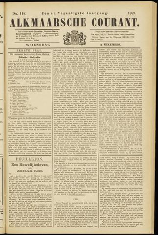 Alkmaarsche Courant 1889-12-04