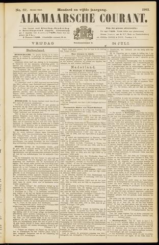 Alkmaarsche Courant 1903-07-24