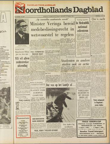 Noordhollands Dagblad : dagblad voor Alkmaar en omgeving 1969-05-07