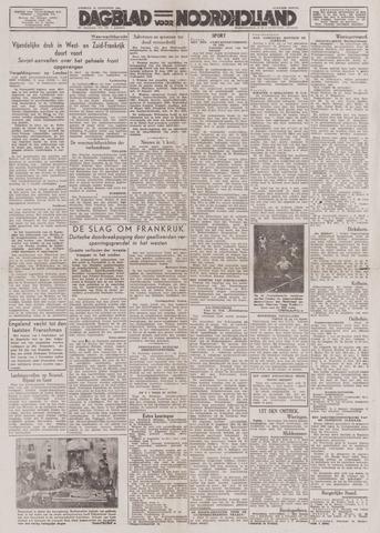 Dagblad Noord-Holland, Schager editie 1944-08-22
