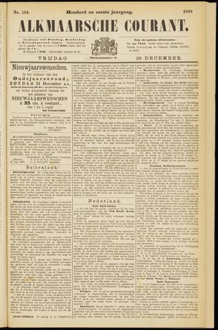 Alkmaarsche Courant 1899-12-29