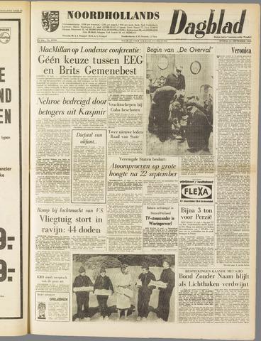 Noordhollands Dagblad : dagblad voor Alkmaar en omgeving 1962-09-11