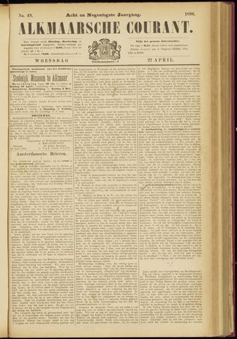 Alkmaarsche Courant 1896-04-22