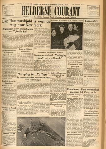 Heldersche Courant 1955-01-11