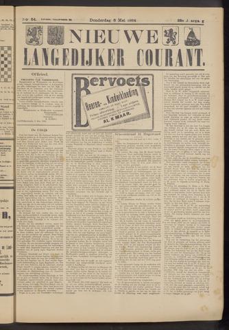 Nieuwe Langedijker Courant 1924-05-08