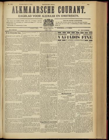 Alkmaarsche Courant 1928-11-12