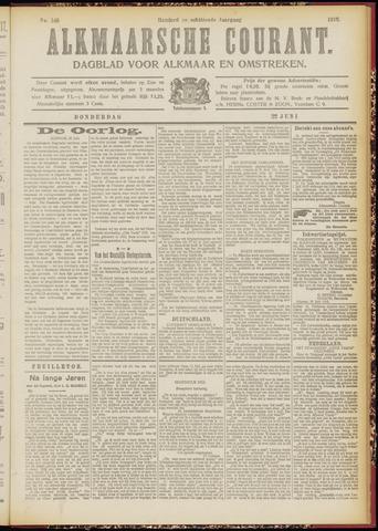 Alkmaarsche Courant 1916-06-22