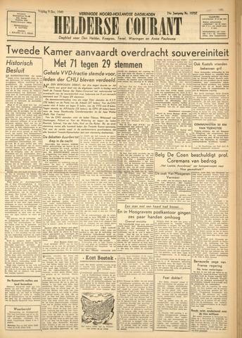 Heldersche Courant 1949-12-09