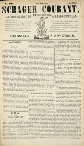 Schager Courant 1881-11-08