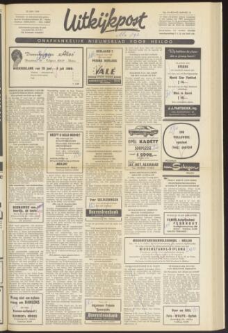 Uitkijkpost : nieuwsblad voor Heiloo e.o. 1969-06-25