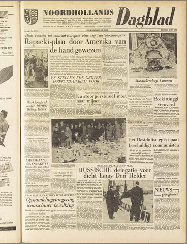 Noordhollands Dagblad : dagblad voor Alkmaar en omgeving 1958-05-05