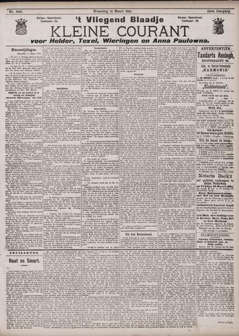 Vliegend blaadje : nieuws- en advertentiebode voor Den Helder 1904-03-16
