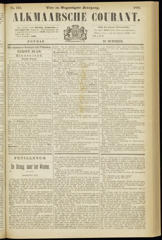 Alkmaarsche Courant 1892-10-16