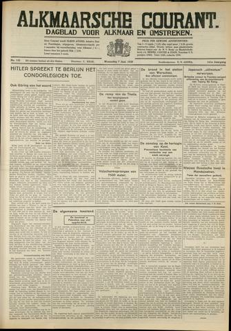 Alkmaarsche Courant 1939-06-07