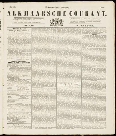 Alkmaarsche Courant 1874-08-09