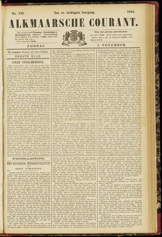 Alkmaarsche Courant 1884-11-02