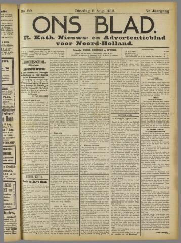 Ons Blad : katholiek nieuwsblad voor N-H 1913-08-05