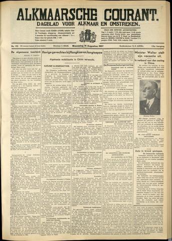 Alkmaarsche Courant 1937-08-18