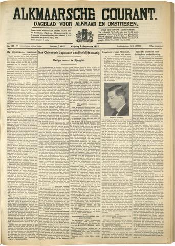 Alkmaarsche Courant 1937-08-06