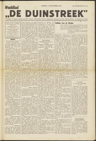 De Duinstreek 1947-09-19