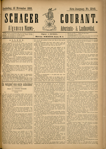 Schager Courant 1888-11-15