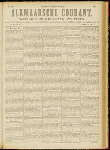Alkmaarsche Courant 1918-11-21
