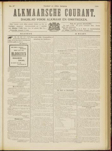 Alkmaarsche Courant 1909-03-22