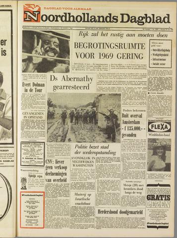 Noordhollands Dagblad : dagblad voor Alkmaar en omgeving 1968-06-25