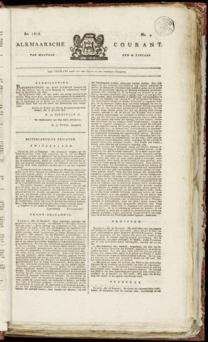 Alkmaarsche Courant 1818-01-26