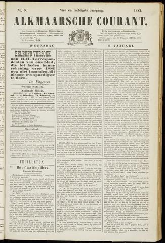 Alkmaarsche Courant 1882-01-11